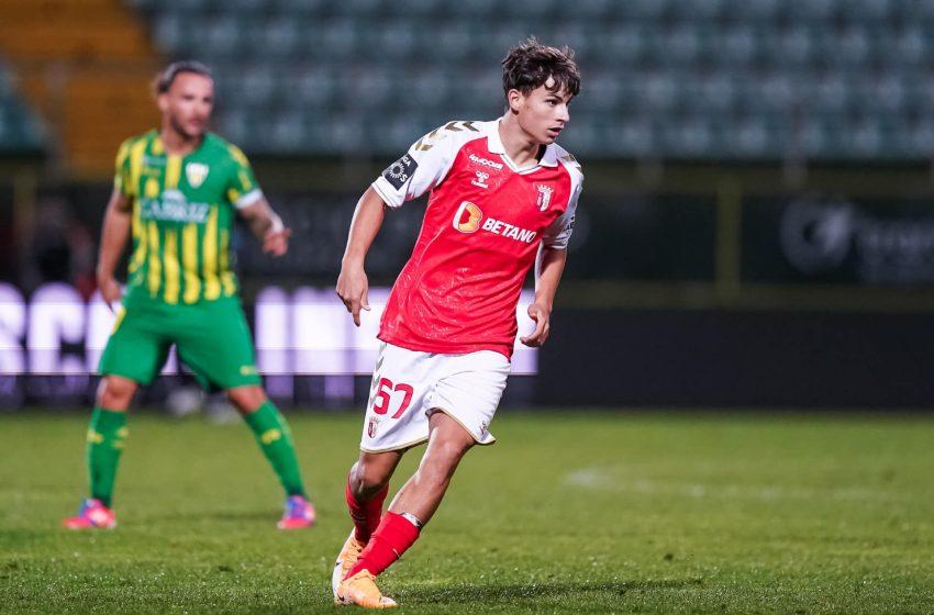 Rodrigo Gomes, 17 ans et déjà dans l'élite